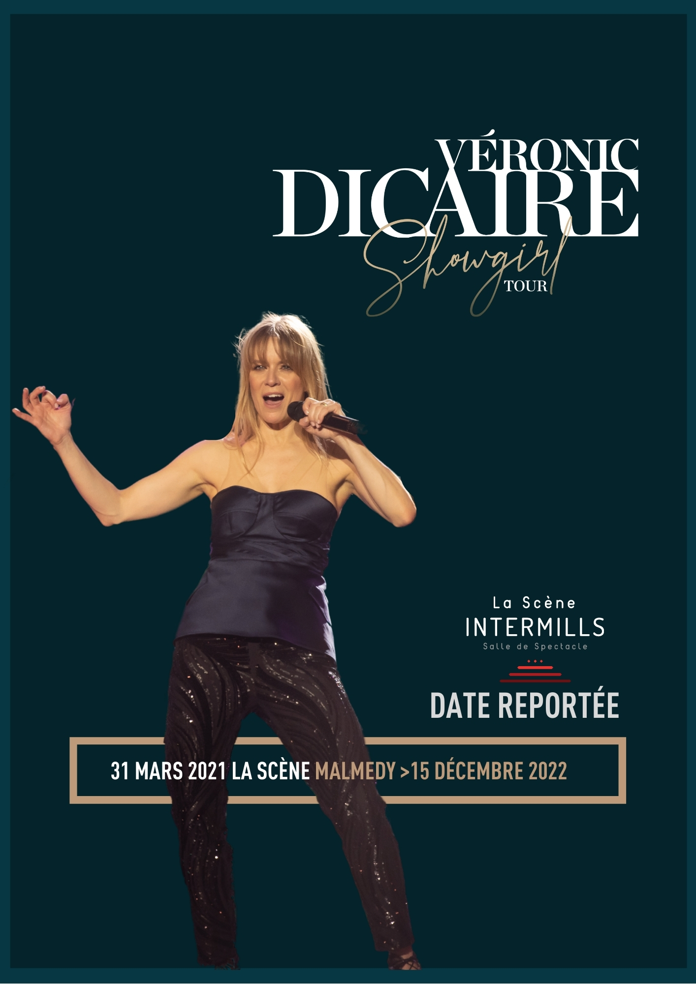 Véronic Dicaire . Showgirl Tour . Nouveau spectacle