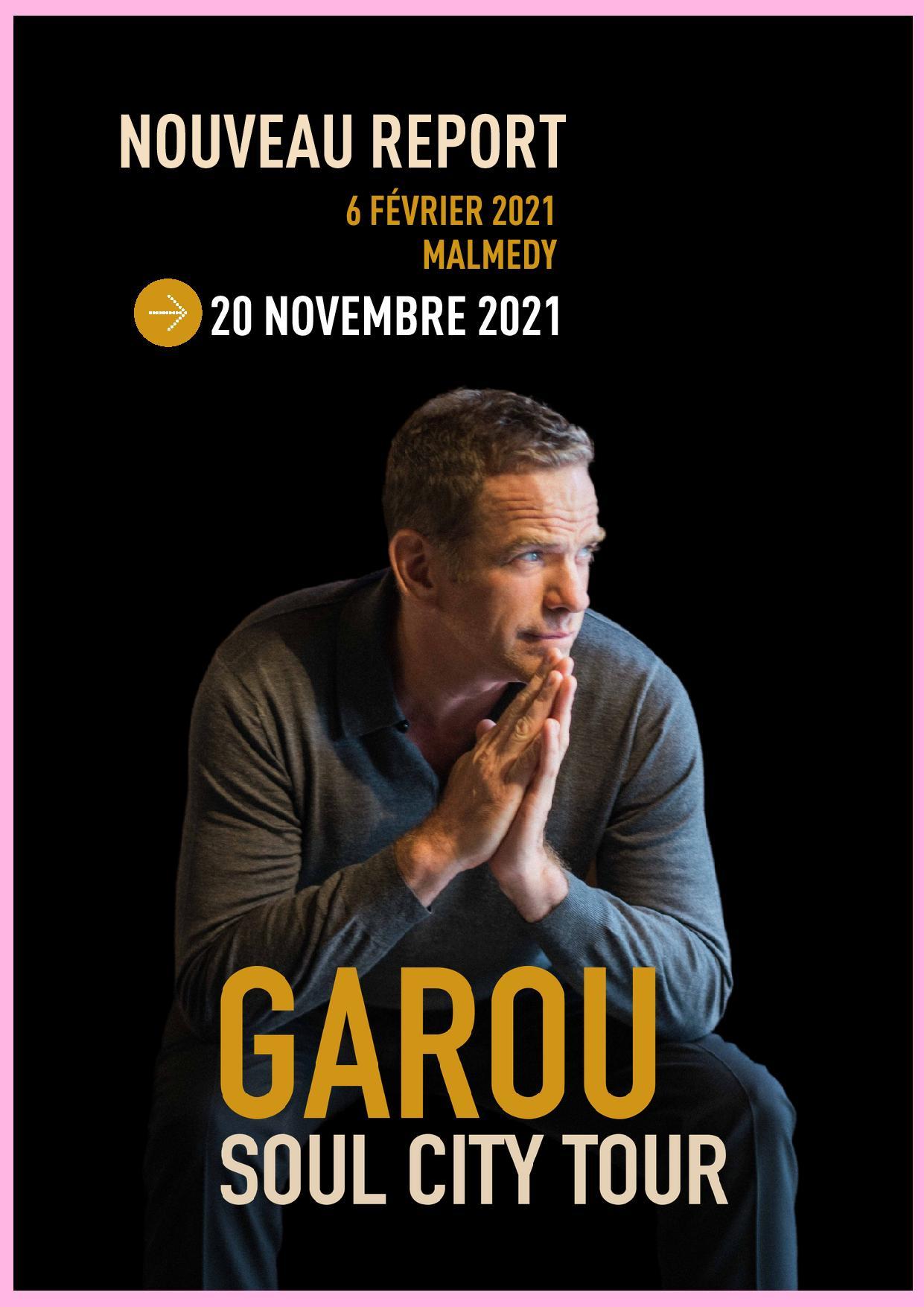 Soul City Tour – Garou