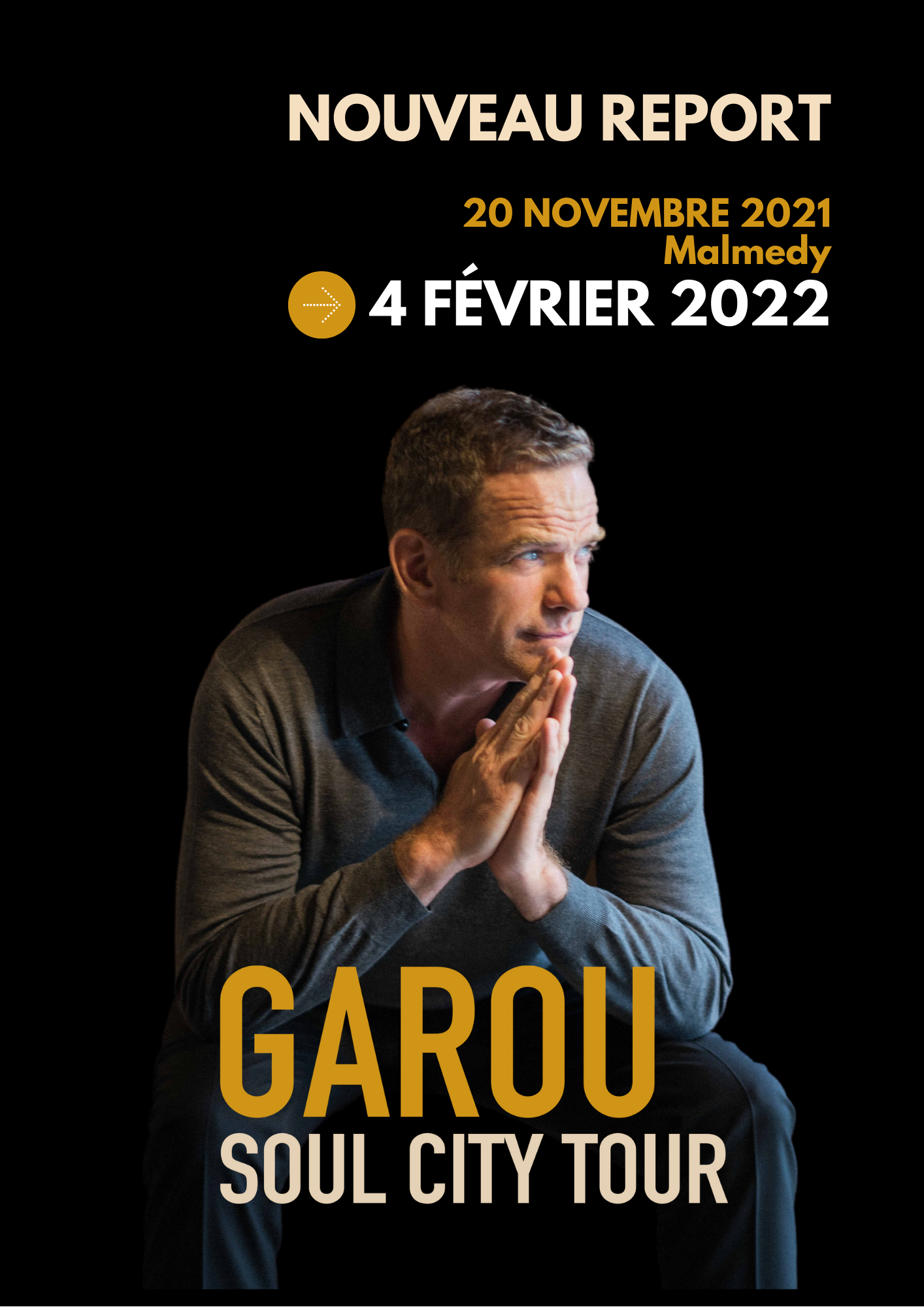 Soul City Tour – Garou