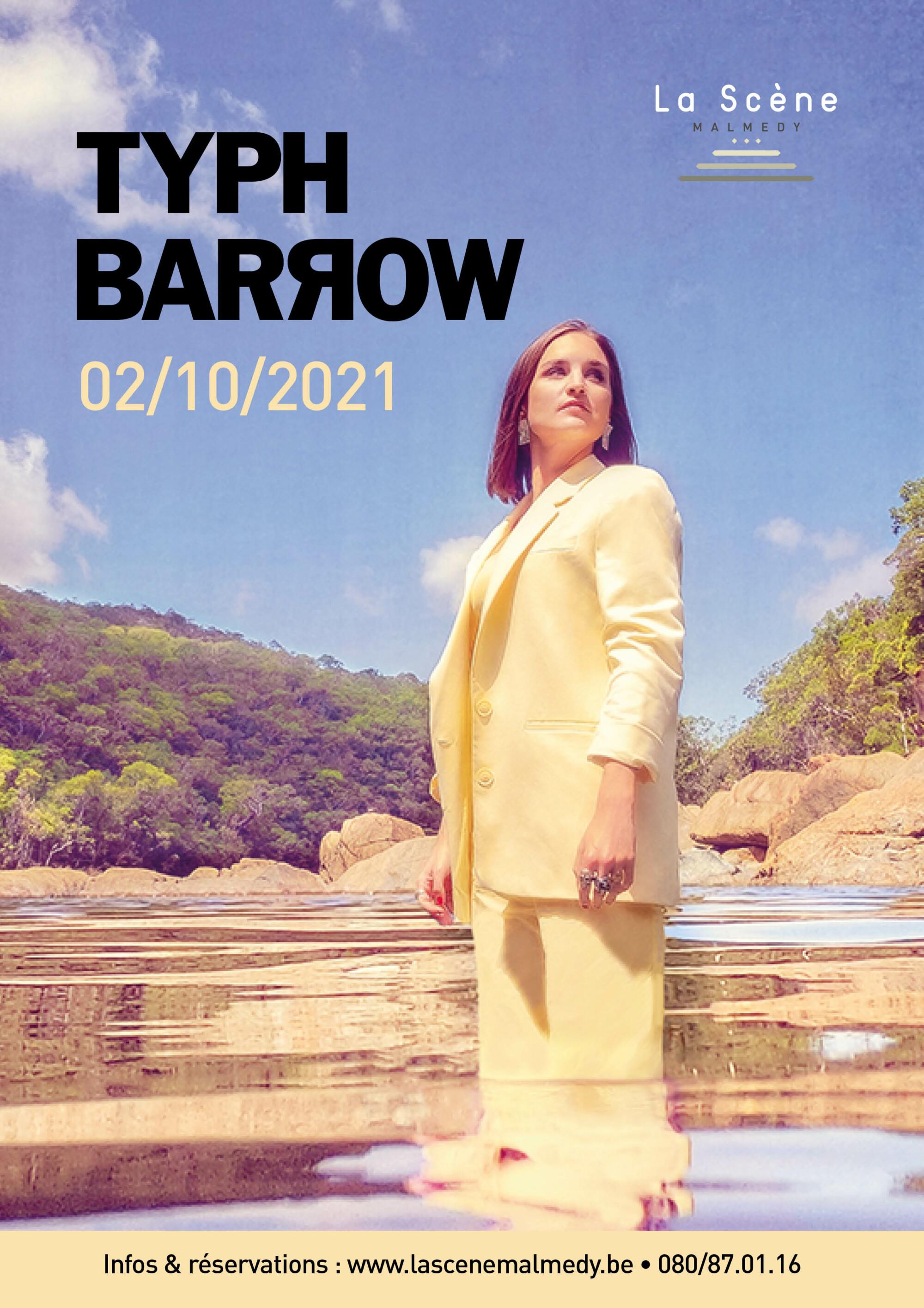 TYPH BARROW – En concert !